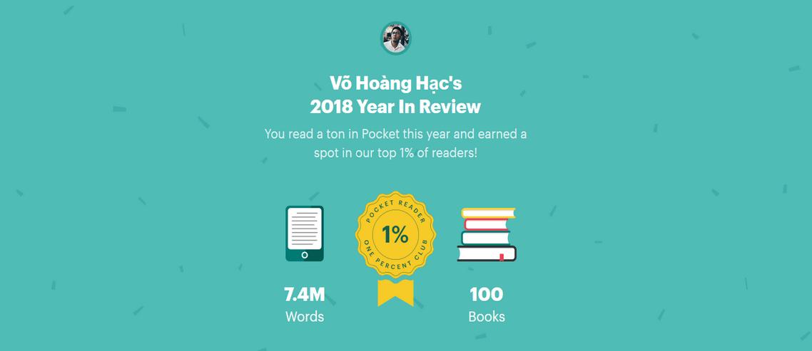 Những cuốn sách tôi đã đọc trong năm 2018